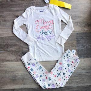 NWT 3t Holiday Pajama Set